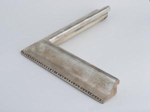 Profil 1076 Ausführung Echtsilber patiniert