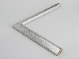 Profil 1316 Ausführung komplett Echtsilber, schwarzes Poliment, Handgrund