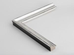 Profil 35271 Ausführung Echtsilber, schwarzes Poliment, Rücken farbig C09