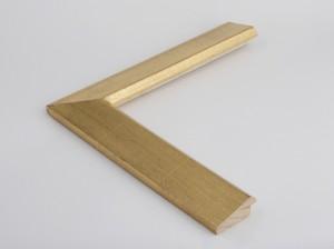 Profil 5723 Ausführung komplett 23 Karat Gold, rotes Poliment