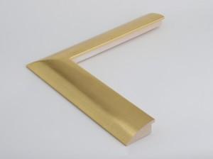 Profil 5723 Ausführung komplett 23 Karat Weißgold, rotes Poliment