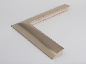 Profil 5723 Ausführung komplett 23,75 Karat Platin,schwarzes  Poliment