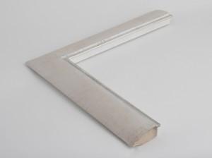 Profil 60231 Ausführung Echtsilber, Rücken Echtfurnier weiß