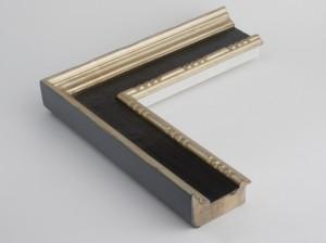 Profil 450 Ausführung 23 Karat Gold, Platte farbig C09 mit Punzierung
