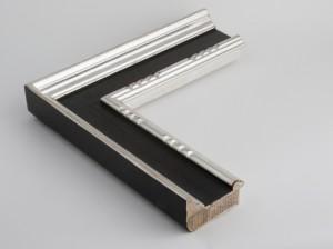Profil 450 AusführungEchtsilber, Platte farbig C09 mit Punzierung